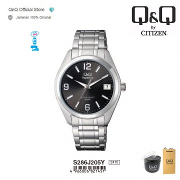 Q&Q QnQ QQ Original Jam Tangan Unisex Analog Formal - S286 S286J Water Resist