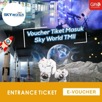 Sky World TMII - Voucher Tiket Masuk ALL DAY