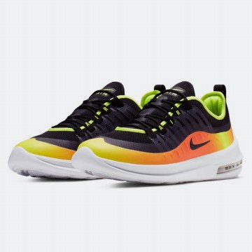 Sepatu Olahraga Lari Fitness Gym Nike Air Max Axis Premium Men's Leisure - Black Orange AA2148006