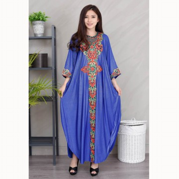 Long dress Gamis Maxi variasi Renda tangan Panjang - Jfashion Sarah