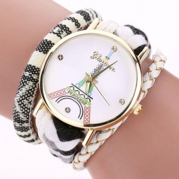 Tower Womenweaving Miracle Wrap Fashion Watches