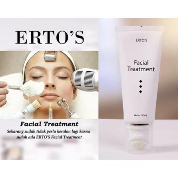 Ertos / Erto's Facial Treatment / 100ml / Original BPOM
