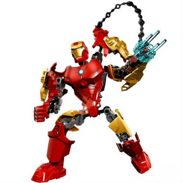 Action Figure SUPER HEROES, Plastic Building Blocks Toy Bricks
