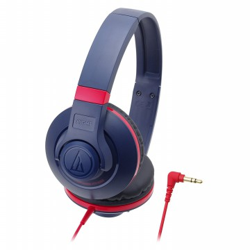 Audio Technica Portable Headphone ATH-S300 NV (EX) - Navy