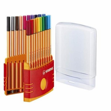 STABILO Pen / Pulpen Warna Color Parade Point 88 set 20