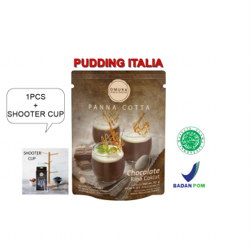 [HOT DEALS]Omura Dessert Shooter PANNA COTTA 1PCS + SHOOTER CUP