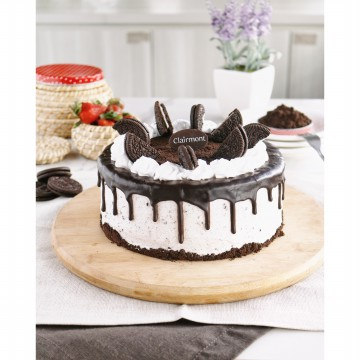 Cookies and Cream Cake diameter 15cm by Clairmont Cake