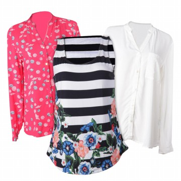 4 New Collection Women Beauty Shirt/ 2 colors/ Uptodate Shirt/ Branded Shirt