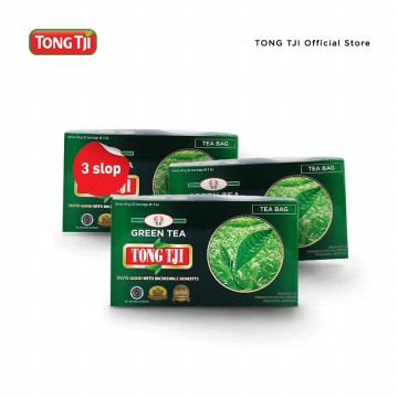 Tong Tji Celup Green Tea (3 slop)