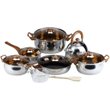 Panci Set Oxone Eco OX-933 - Cookware Set - Alat Masak