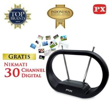Antena TV Dalam Digital Indoor Antenna PX DA-1301NP