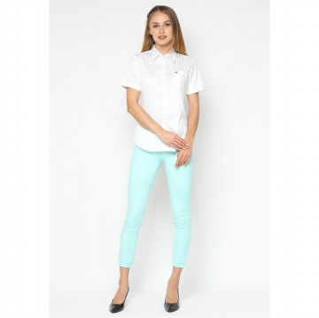 Mobile Power Ladies Basic Skinny Long Pants - Mint Z2223S