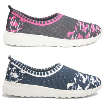 Dr. Kevin Sport Shoes Sepatu Sneakers Wanita 589-007 (2 Color Options) - Black/Maroon & Navy/White