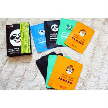 [ get 10 pcs]  SNP Animal Face Mask Korea