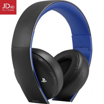 SONY PlayStation Gold Wireless Stereo Headset - Jet Black