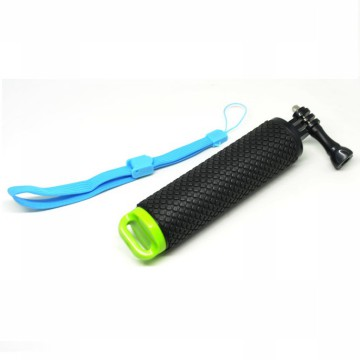 Pov Dive Buoy Floating Monopod for Action Camera GoPro / Xiaomi Yi / Xiaomi Yi 2 4k - Black/Green