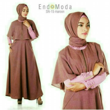 Dress + Pashmina Endomoda SN 15