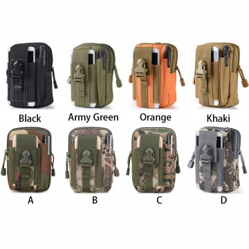 Tas Pinggang Mini Tactical Army Look - Khaki