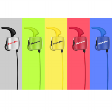 Bluedio TE Bluetooth 4.1 Wireless Sports Headphone Sweatproof Headset Garansi Bluedio 1 Tahun