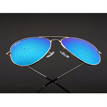 Veithdia Kacamata Pria Aviator UV Polarized - Purple