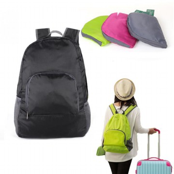 Tas Ransel Lipat Travel Backpack - Black