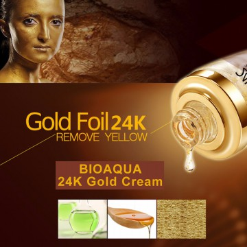 (30ml) BIOAQUA 24K GOLD ESSENCE FACE ANTI AGING | SERUM WAJAH EMAS 24K