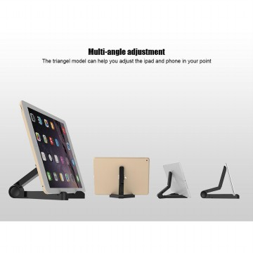 Portable Foid Stand Void Stand Phone Holder Dudukan Tablet Lipat