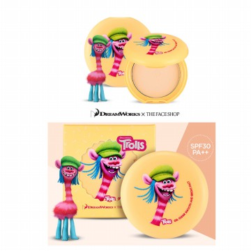 [THE FACE SHOP-TROLLS ADITION]OIL CLEAR SMOOTH AND BRIGHT PACT
