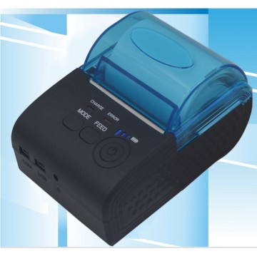 Zjiang Mini Portable Bluetooth Thermal Receipt Printer - 5805-DD - Black