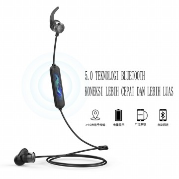 UIISII B6 BLUETOOTH EARPHONE WIRELESS HEADSET MAGNET EARBUDS WITH MICPHONE STEREO BLUETOOTH EARPIECE