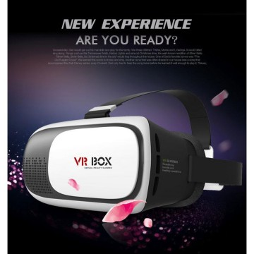 VR Box Virtual Reality Cardboard for Smartphone - White