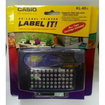 [casio] LABEL PRINTER CASIO KL-60