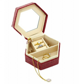 Sophie Paris Perhiasan Wanita Hester Jewelry Box Red-JB036R1