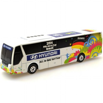Die Cast Hyundai 2014 FIFA World Cup Brazil National Bus