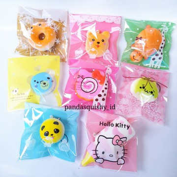 Paket Squishy CUTE MINI (Isi 8 pcs)