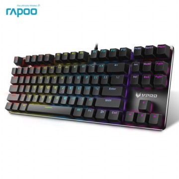 RAPOO RGB GAMING KEYBOARD TKL V500RGB ALLOY US.BLACK.LS