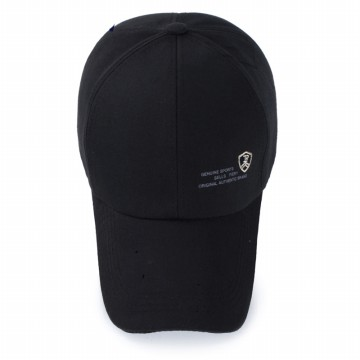 Topi Baseball Kasual Unisex - Black
