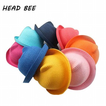 Head Bee Topi Laken Model Baby Ear - Beige