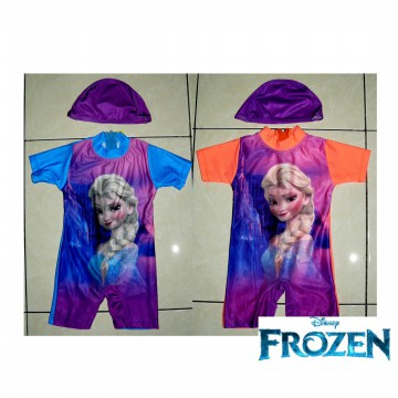Baju Renang diving baby frozen
