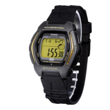 Fashion Pria Jam Tangan Digital Pria Casio Original HDD-600G-9A Sports Edition