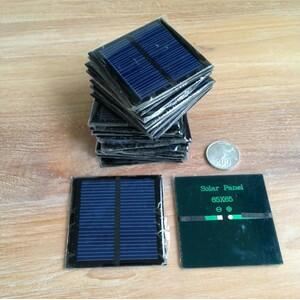 Solar Cell Panel 0.6W 5.5V 90mA Mini  polycrystalline