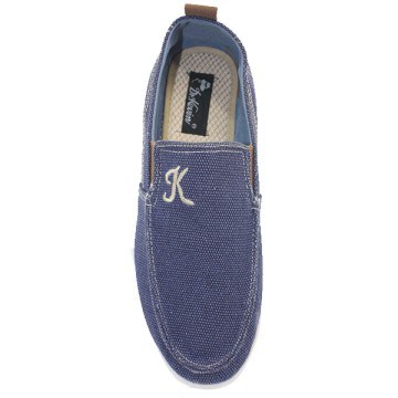 2Colors Dr.Kevin Men Casual Slip-On 13272: Brown, Blue