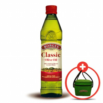 Borges Pure Olive Oil 500 mL - FREE COOLER BAG
