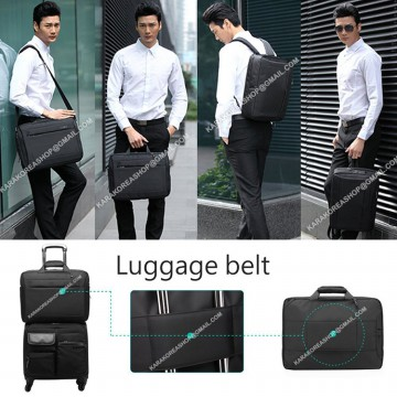KOREAN STYLE ★ [CB5501] Business Laptop Briefcase/Backpack/Messengerbag/Tas kerja 3in1