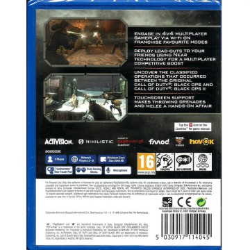 [Sony PS Vita] Call Of Duty: Black Ops Declassified