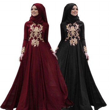 Binx Fashion Dress Muslim Maxi Khaira - (4 Warna)
