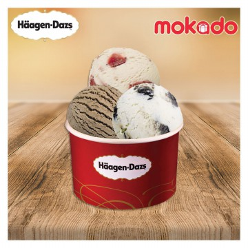 [Haagen Dazs] - Triple Scoop