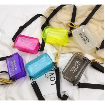 Mini Shoulder Bag Fashion Mini Girl Tas Selempang PVC - FM001