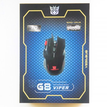 VEGASUS Optical Gaming Mouse VGS-G8 Viper | Mouse Kabel Optikal / Wire
