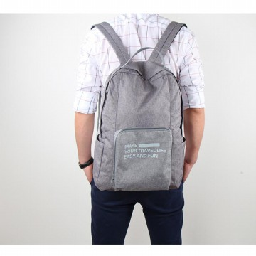 NEW FOLDING TRAVEL BACKPACK 2.0 - BISA DI LIPAT